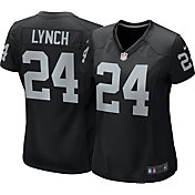 Nike Women's Home Game Jersey Oakland Raiders Marshawn Lynch #24