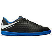 Nike Kids' HypervenomX Phade III Indoor Soccer Shoes
