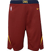 Nike Youth Cleveland Cavaliers Dri-FIT Burgundy Swingman Shorts