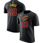 Nike Youth Cleveland Cavaliers LeBron James #23 Dri-FIT Black T-Shirt