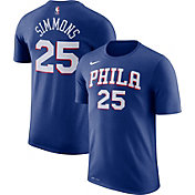 Nike Youth Philadelphia 76ers Ben Simmons #25 Dri-FIT Royal T-Shirt