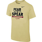 Nike Youth Florida State Seminoles Gold Local Verbiage T-Shirt