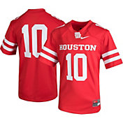 Nike Youth Houston Cougars #10 Red Game Football Jersey