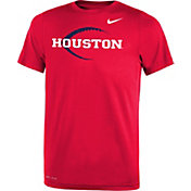 Nike Youth Houston Cougars Red Football Icon Legend T-Shirt