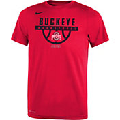 Nike Youth Ohio State Buckeyes Scarlet Basketball Legend T-Shirt