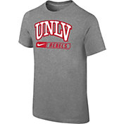 Nike Youth UNLV Rebels Grey Logo T-Shirt