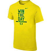 Nike Youth Oregon Ducks Yellow Local Verbiage T-Shirt