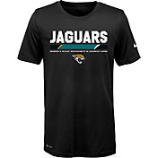 Nike Youth Jacksonville Jaguars Legend Staff Performance Black T-Shirt