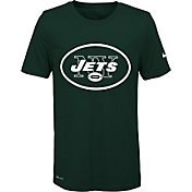 Nike Youth New York Jets Legend Logo Green Performance T-Shirt