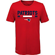 Nike Youth New England Patriots Legend Staff Performance Red T-Shirt