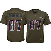 Nike Youth Home Limited Salute to Service New England Patriots Rob Gronkowski #87 Jersey