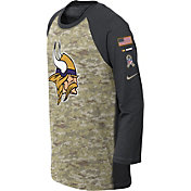 Nike Youth Minnesota Vikings Salute to Service 2017 Raglan