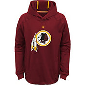 NFL Team Apparel Youth Washington Redskins Mach Pullover Hoodie