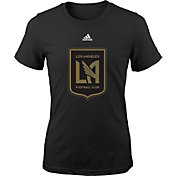 adidas Youth Los Angeles FC Primary Logo Black T-Shirt