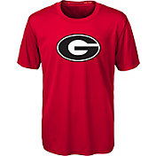 Gen2 Youth Georgia Bulldogs Red Carbon T-Shirt