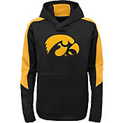 Gen2 Youth Iowa Hawkeyes Black Hyperlink Hoodie
