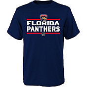 NHL Youth Florida Panthers Epitome Navy T-Shirt