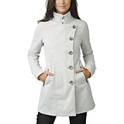 prAna Women's Martina Long Heathered Soft Shell Jacket
