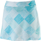 PUMA Women's Crosshatch Knit Golf Skort