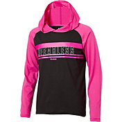 Reebok Girls' #Fearless Graphic Hoodie