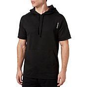 Reebok Men's Double Knit Short Sleeve Hoodie