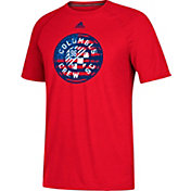 adidas Men's Columbus Crew Patriotic Climalite Red T-Shirt