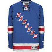 Reebok Men's New York Rangers Premier Replica Home Blank Jersey