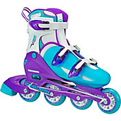 Roller Derby Girls' V-Tech 500 Adjustable Inline Skates
