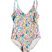 Roxy Girls' California Diary One Piece Swimsuit