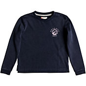 Roxy Girls' Secretly Happy Crew Pullover