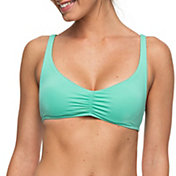 Roxy Women's Strappy Love Athletic Crop Bikini Top