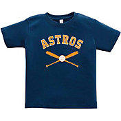 Soft As A Grape Toddler Houston Astros Navy Shirt