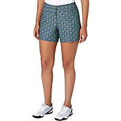 "Slazenger Women's City Lights Collection Printed 5"" Golf Shorts"