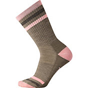SmartWool Women's Striped Hike Light Crew Socks