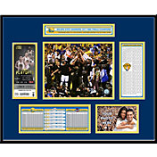 That's My Ticket 2017 NBA Finals Champions Golden State Warriors Ticket Frame