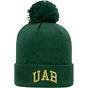 Top of the World Men's UAB Blazers Green Pom Knit Beanie