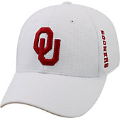 Top of the World Men's Oklahoma Sooners White Booster Plus 1Fit Flex Hat
