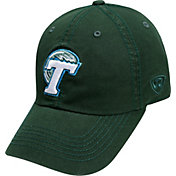 Top of the World Men's Tulane Green Wave Olive Crew Adjustable Hat