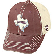 Top of the World Men's Texas A&M Aggies Maroon/White United Adjustable Snapback Hat
