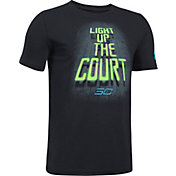 Under Armour Boys' SC30 Light Up The Court Graphic Basketball T-Shirt