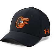 Under Armour Men's Baltimore Orioles Blitzing Adjustable Hat