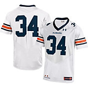 Under Armour Men's Auburn Tigers White #34 Replica Football Jersey