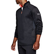 Under Armour Men's ColdGear Reactor 1/4 Zip Long Sleeve T-Shirt