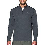 Under Armour Men's Threadborne Siro Herringbone Print ? Zip Long Sleeve Shirt
