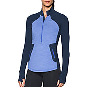 Under Armour Women's ColdGear Reactor 1/2 Zip Long Sleeve T-Shirt