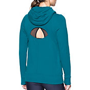 Under Armour Women's French Terry Open Back Long Sleeve T-Shirt