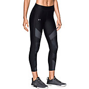 Under Armour Women's HeatGear Color Blocked Printed Ankle Leggings
