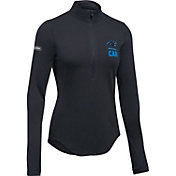 Under Armour NFL Combine Authentic Women's Carolina Panthers Favorites Half-Zip Black Pullover