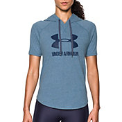 Under Armour Women's Sportstyle Short Sleeve Hoodie