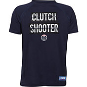 "Under Armour Youth Washington Wizards ""Clutch Shooter"" Navy Tech Performance T-Shirt"